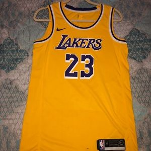 Nike Lebron James Lakers Jersey